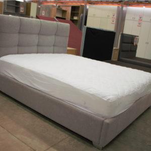 מיטה מעוצבת בסיס צרגות דגם טוסקנה +ראש דקוטה