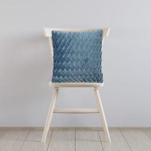 כרית נוי ART מעוצבת 45/45 כחול