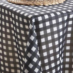 מפת שולחן בופאלו 145/145 שחור
