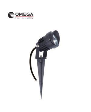דוקרן גינה מוגן מים ספייק LED אור יום 12V