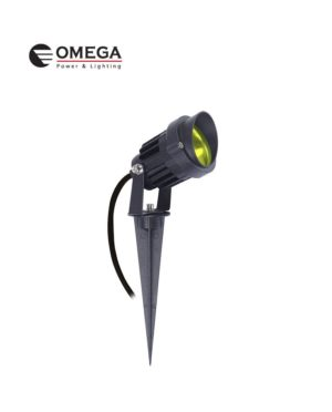דוקרן גינה מוגן מים ספייק LED אור חם 12V